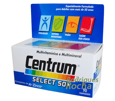 Centrum Select 50+ 90 Comp