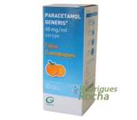 Paracetamol Generis 40 mg/ml Xarope