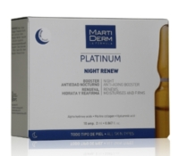 Martiderm Platinum Night Renew 10 ampolas