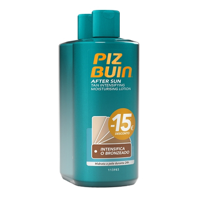 Piz Buin Loção After Sun Prolonga o Bronzeado Pack Duo